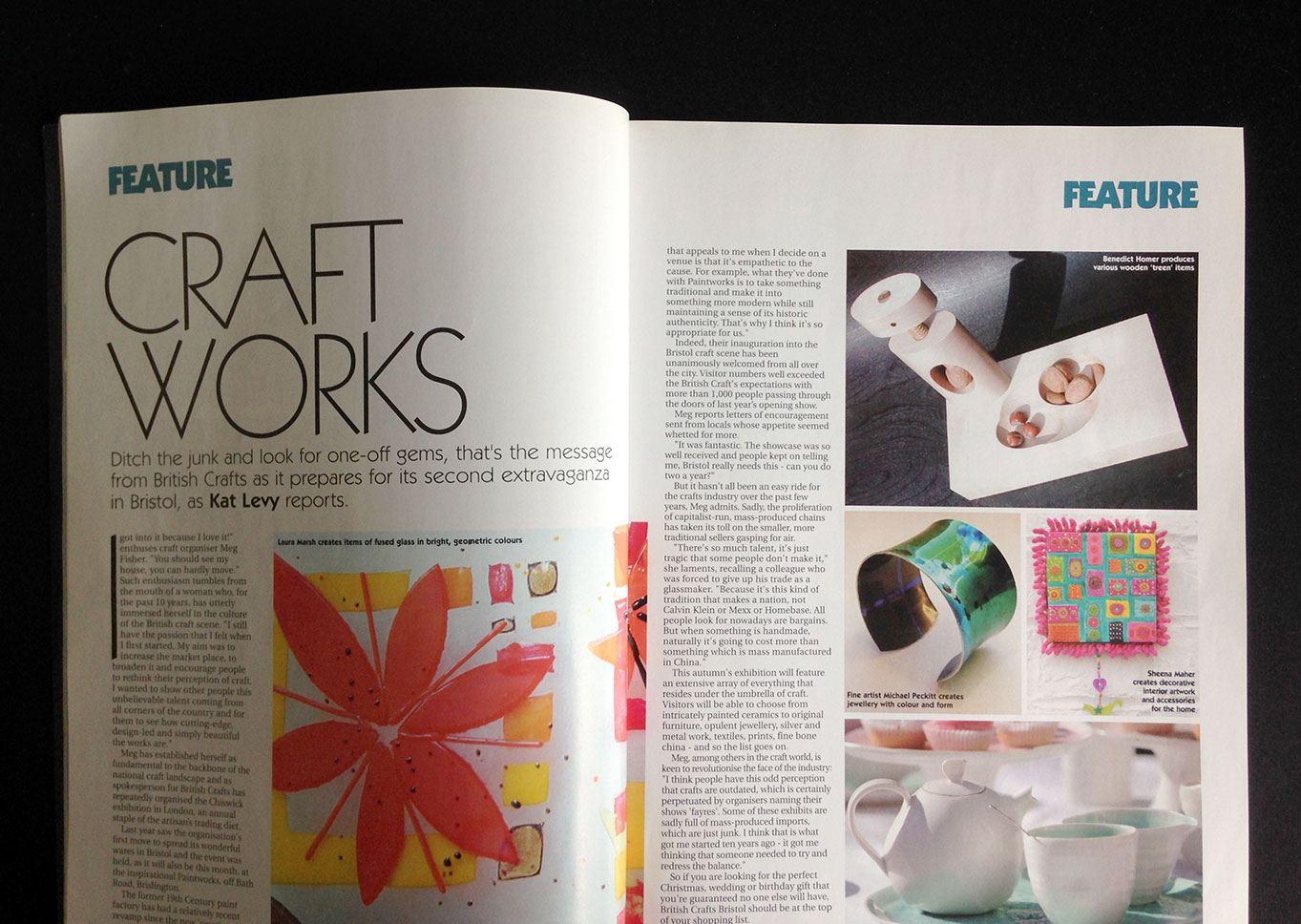 Folio Magazine Craft Works